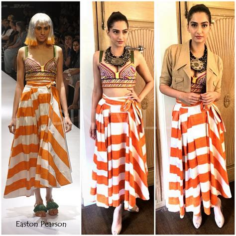 Yay Or Nay Kidmans Butterfly Mcqueen Gown At Cma Awards by Yay Or Nay Sonam Kapoor In Easton Pearson Pinkvilla