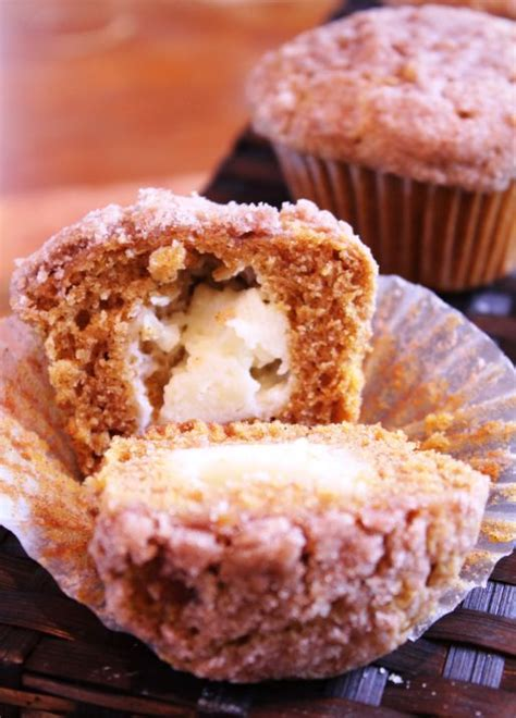pumpkin muffins with cream cheese frosting recipe dishmaps
