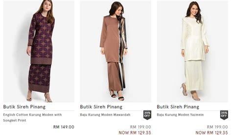 Beli Baju Di Zalora koleksi baju kurung hari raya 2017 ecommerce in malaysia