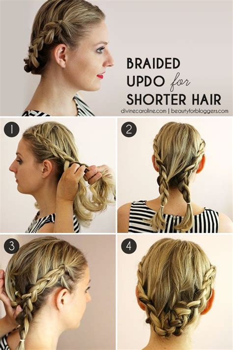 hairstyles for summer party hairstyle how to easy braids for short hair updo