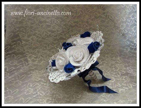 fiori nozze d argento bouquet fiori uncinetto nozze d argento fiori all