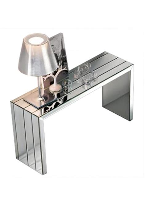 Porte Dressing 2165 by Cattelan Mirrored Console Table 130cm
