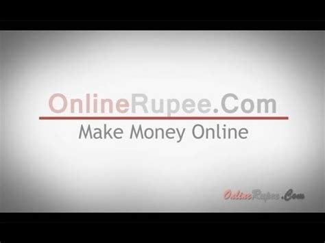 How To Make Money Online India - how to make money online in india make money online free neobux onlinerupee
