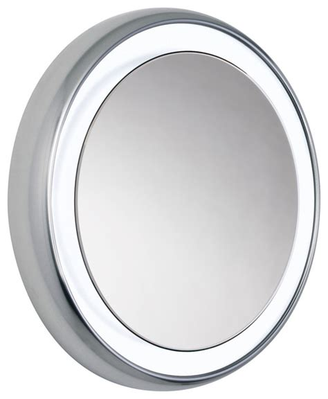 round bathroom mirror tigris round mirror by tech lighting contemporary