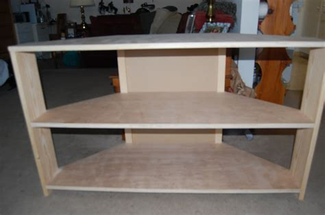building a corner tv cabinet how to make a corner tv stand plans diy free download