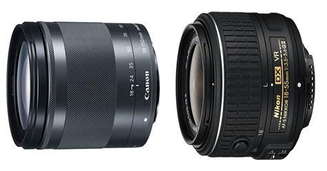 Lensa Kamera Canon Dan Nikon ini perbedaan lensa tele canon dan nikon okezone techno