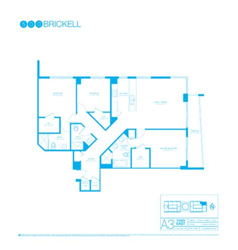 500 brickell floor plans 500 brickell site plan and floor plans in brickell miami