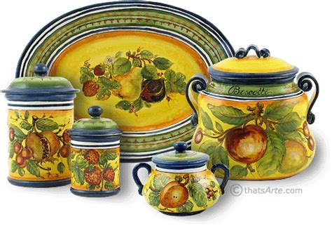 canister sets tuscan style search kitchen
