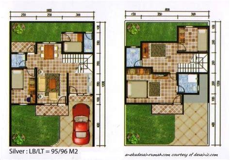 gambar denah pengembangan rumah 2 lantai minimalis 1 si momot