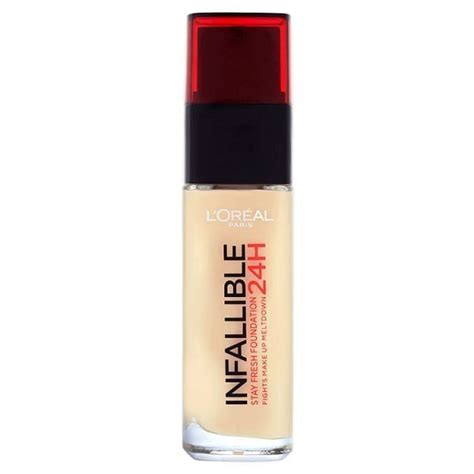 Foundation Loreal Infallible Liquid l oreal infallible foundation review glowpink