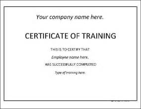 basic certificate template free basic certificate from formville