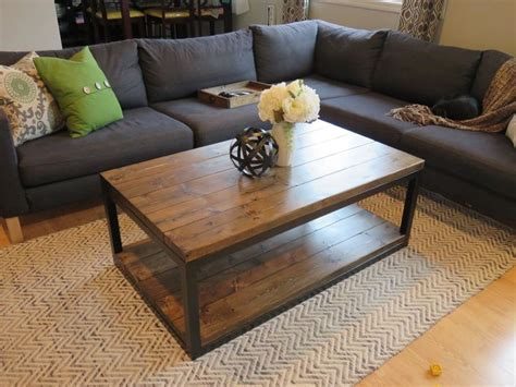 Do It Yourself Coffee Table Industrial Coffee Table Do It Yourself Home Projects From White Things I To Make