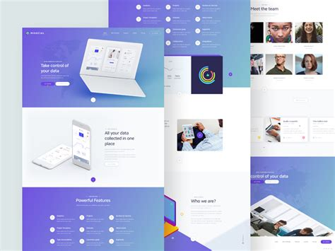 Free Data Analytics Services Website Template Psd At Data Analytics Website Template