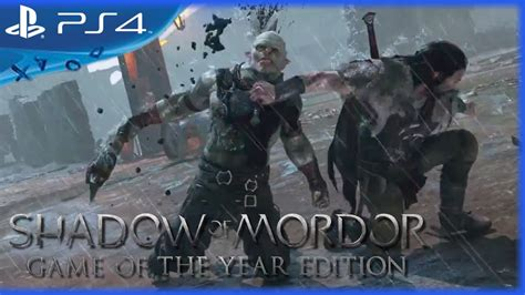 Kaset Gameps4 Middle Earth Shadow Of Mordor Goty Reg 2 middle earth shadow of mordor of the year edition launch trailer 1080p ps4