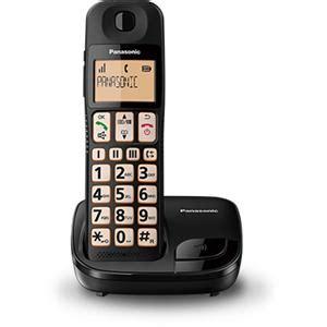 Murah Original Panasonic Kx Tgb212 Black home phones cordless phones dect ip phones jb hi fi