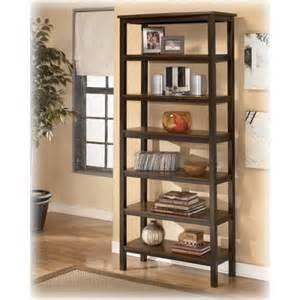 Ashley Furniture Bookshelves H521 17 Ashley Furniture Fletcher Large Bookcase Steele