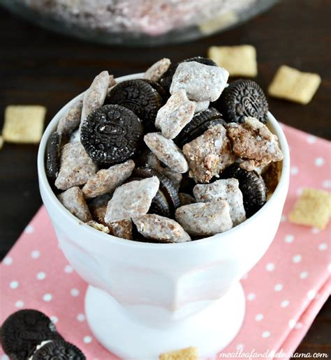 easy puppy chow recipe easy oreo puppy chow meatloaf and melodrama
