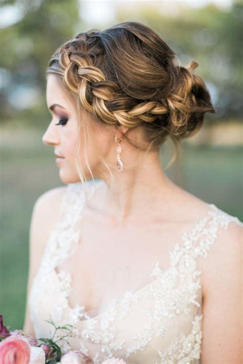 Backyard Wedding Hairstyles Outdoor Wedding Inspiration 100 Layer Cake