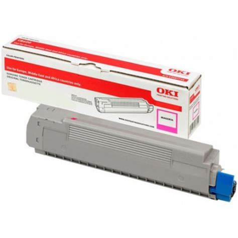 Oki Yellow Toner For C332 Mc363 Printer 1 oki 46508714 magenta toner cartridge
