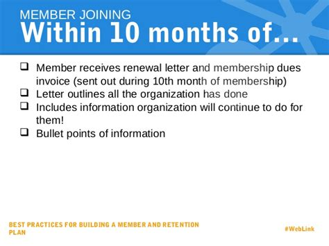 Support Renewal Letter best practices for building a member and retention strategy