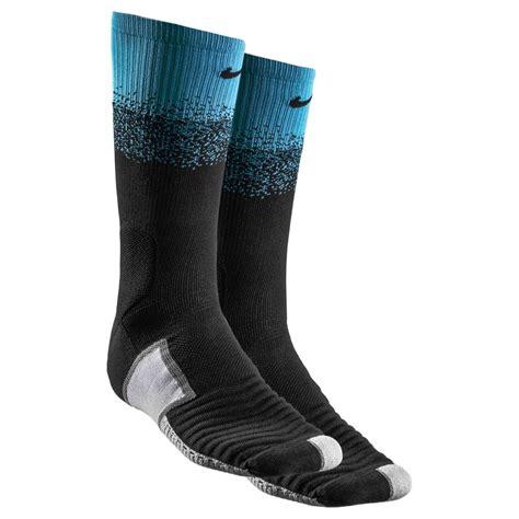 light blue nike football socks nike football socks elite match fit dipped in black crew