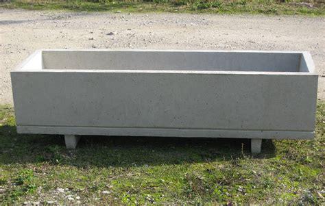 fioriere prefabbricate in cemento cemento armato