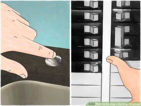 Unclogging A Sink With A Garbage Disposal by 4 Ways To Unclog A Garbage Disposal Wikihow