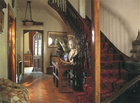 house hallway victorian halls stairs and landings period home and garden