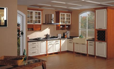 kitchen cabinet solid wood solid wood painting kitchen cabinet lh sw083