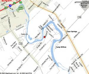 where is new braunfels map vacation in new braunfels lake dunlap guadalupe river