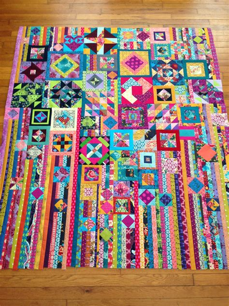 quilt pattern gypsy wife hot pink quilts ff gypsy wife quilt top done