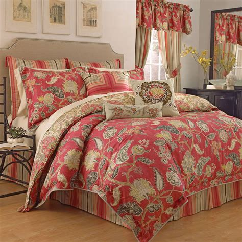 bedding waverly waverly eastern myth radish 4 comforter set at hayneedle