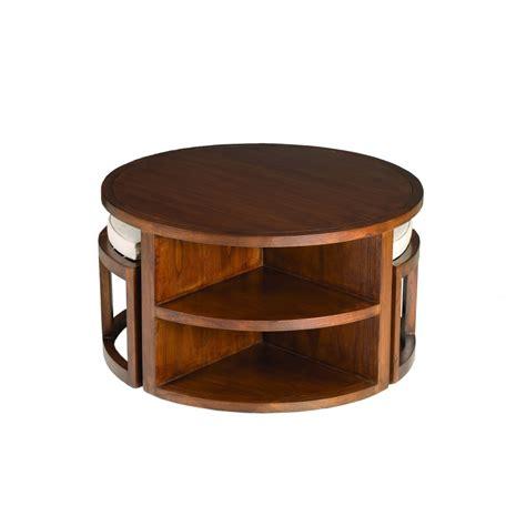 Table Tabouret by Table Basse Avec Tabouret Table Basse 4 Tabourets Ref