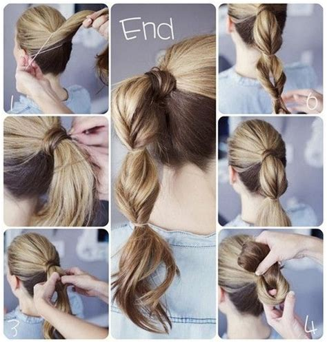 cool easy step hairstyles 15 cute and easy ponytail hairstyles tutorials popular