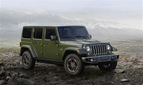 Jeep Custom Wheels Celebrate 75 Years W The Jeep Wrangler And Custom Wheels