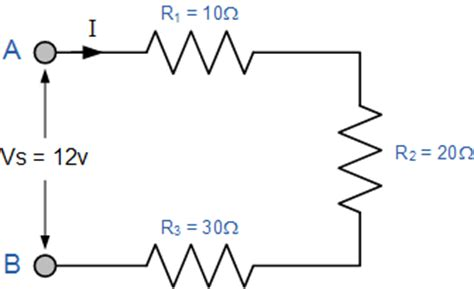 resistor series circuit all about circuit resistors in series