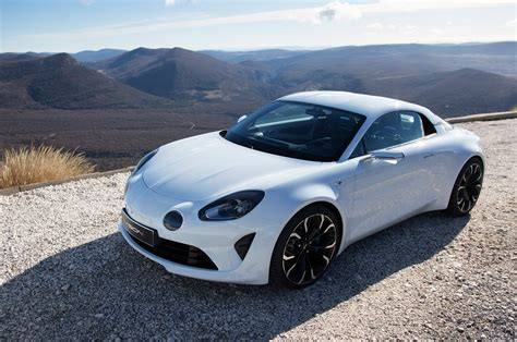 renault alpine a110 new renault alpine a110 production car ready for geneva