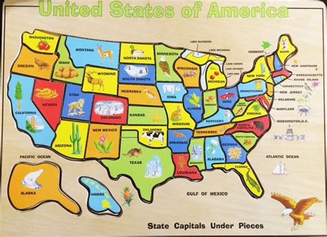 map of united states with capitols best us map 50 states and capitals usa states capitols