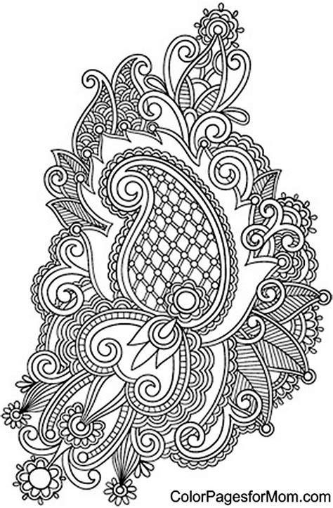 coloring pages for adults paisley coloring for adults kleuren voor volwassenen kleuren