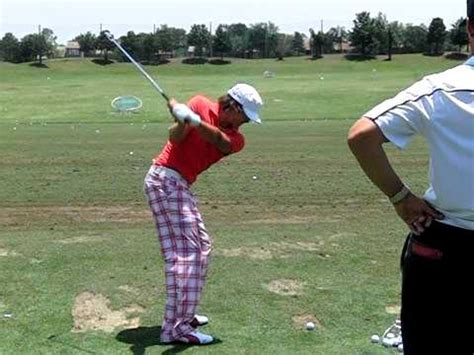 rickie fowler swing vision rickie fowler swing iron images