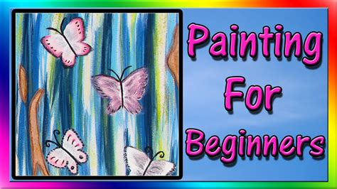acrylic paint nail tutorial for beginners easy acrylic painting for beginners abstract painting
