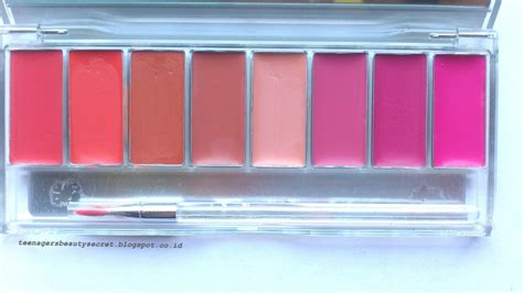 Lipstik Wardah 8 Warna harga wardah lip palette chocoaholic the of