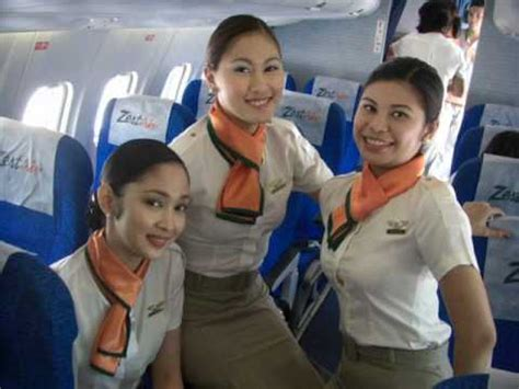 Starting Salary For Cabin Crew by Zest Air Flight Attendants