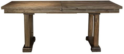 Dawson Wire Brushed Timber 96 Quot Extendable Rectangular Dawson Dining Table