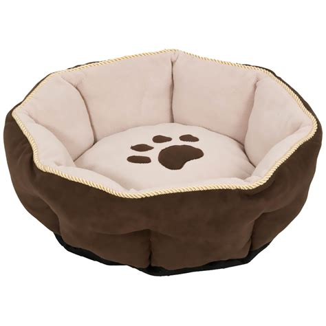 round dog bed aspen pet sculptured round bed 18 quot