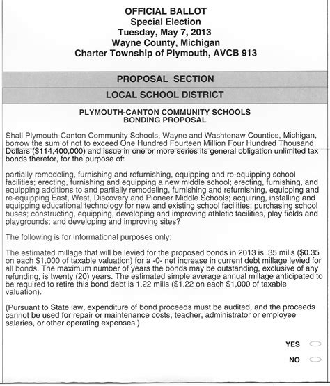 special schools in plymouth special school election absentee ballots are in the mail