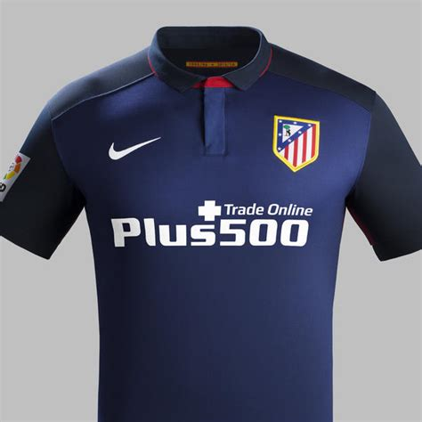 Baju Bola Dri Fit atl 233 tico de madrid s blue away colors evoke club s landmark achievements nike news