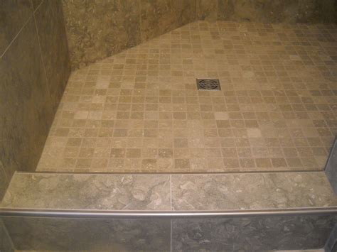 Tile Shower Curb schluter profiles westside tile and