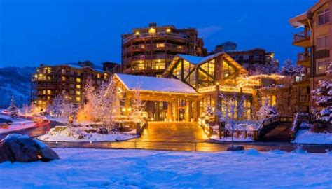 park city getaway for two including airfare charitystars