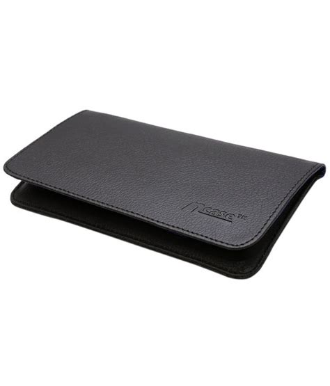 Leather A6000 ncase leather pouch cover for lenovo a6000 plus lenovo